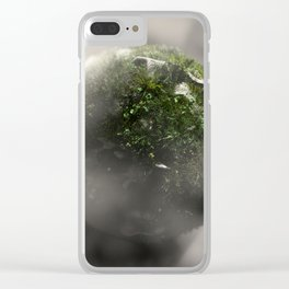 Planet #004 Clear iPhone Case