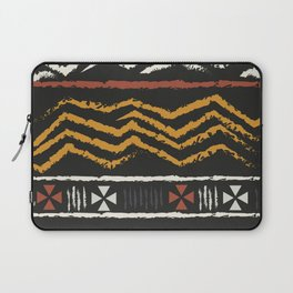 African Tribal Pattern No. 84 Laptop Sleeve