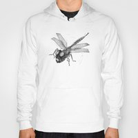 dragonfly Hoodies featuring Dragonfly by Vilnis Klints