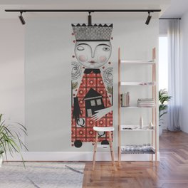 The White Queen Wall Mural