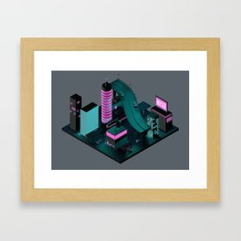 Nippon 2061 Framed Art Print