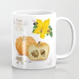 Pumpkin and Pollinators Coffee Mug