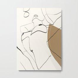 abstract nude 2 Metal Print