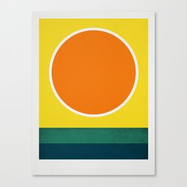 Cistrus Sea Canvas Print