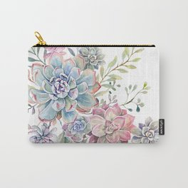succulent watercolor 6 Carry-All Pouch