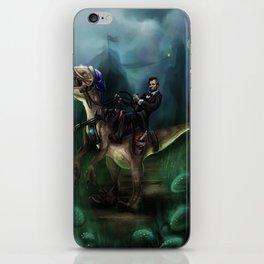 Abraham Lincoln Raptor. iPhone Skin