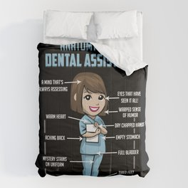Anatomy Of A Dental Assistant Comforters