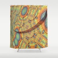 scales Shower Curtains featuring Scales by Lyle Hatch