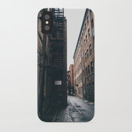 Urban grit, Manchester. iPhone Case