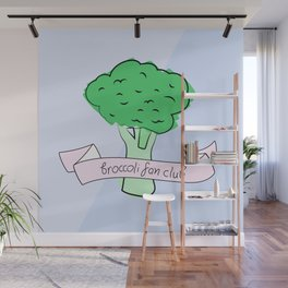 broccoli fan club Wall Mural