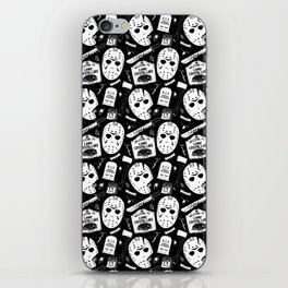 Welcome to Camp Crystal Lake! iPhone Skin