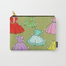 1950's paper doll dresses Carry-All Pouch