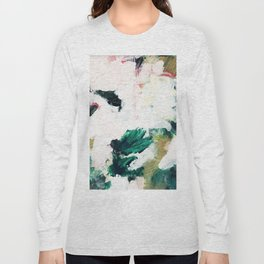 Floral Oil Abtract Long Sleeve T-shirt