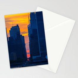 Manhattan Sunset Stationery Cards