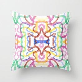 Kaleidoscope I Throw Pillow