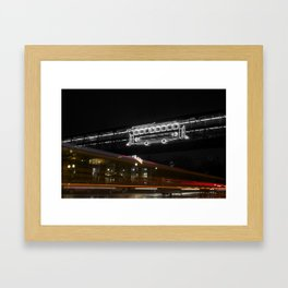 ∞. Framed Art Print