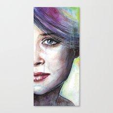 Beautiful Eyes Canvas Print