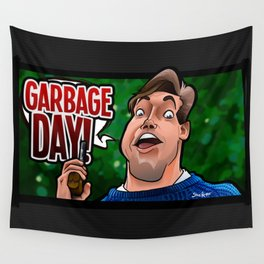 Garbage Day (Silent Night Deadly Night Part 2) Wall Tapestry