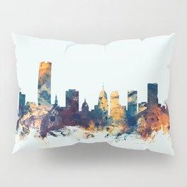 Oklahoma City Skyline Pillow Sham