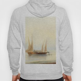 Ivan Aivazovsky - Barge at Sea Shore Hoody