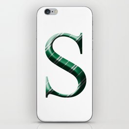 S for Slytherin iPhone Skin