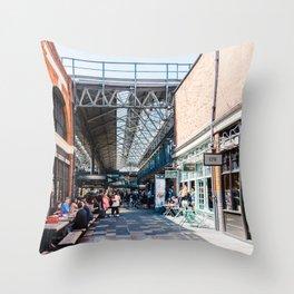 Old Spitalfields Market in London II Throw Pillow