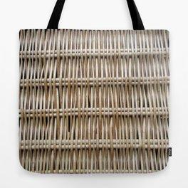 Wicker Weave Tote Bag