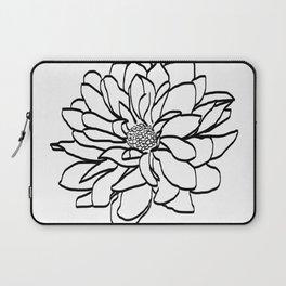 Flower (white) Laptop Sleeve