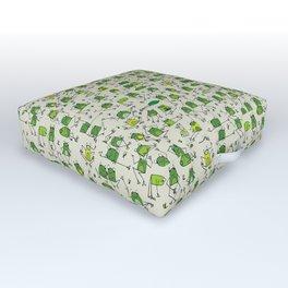 Happy Frogs Outdoor Floor Cushion