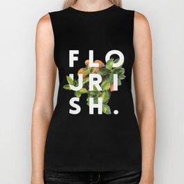 Flourish #society6 #buyart #typography #artprint Biker Tank