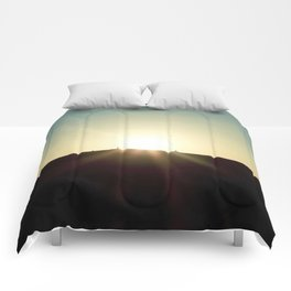 Sunrise #4 Comforters