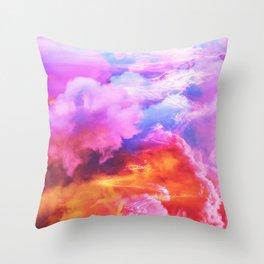 Alpha waves Throw Pillow