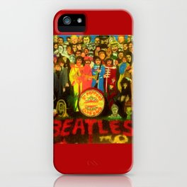 SGT PEPPER iPhone Case