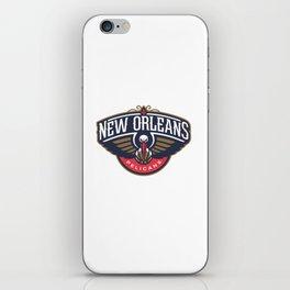 Pelicans Logo iPhone Skin