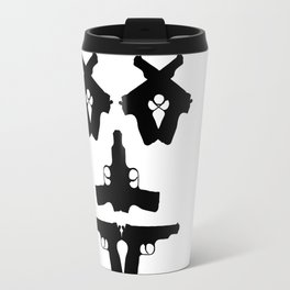 Pistol Face Travel Mug