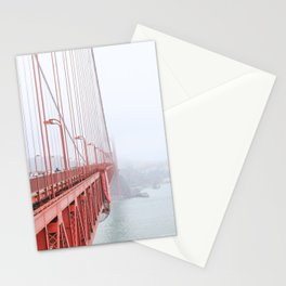 Golden Gate Bridge in San Francisco Stationery Cards