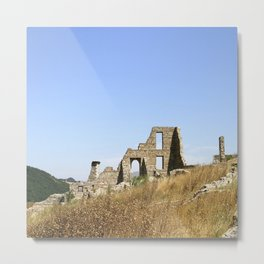 Ancient Italian Village Ruins Metal Print