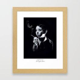 Dietrichesque (C)2015 Framed Art Print