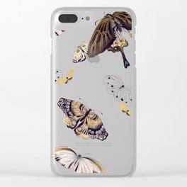 Butterflies II Clear iPhone Case