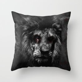 The Undead King Throw Pillow