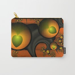Fractal Autumn Love Carry-All Pouch