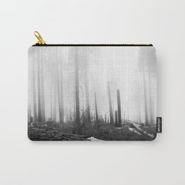 Mist at Sequoia National park Carry-All Pouch