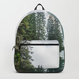 Forest Reflection in Italy Backpack