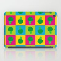 popart iPad Cases featuring Popart Broccoli by XOOXOO