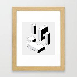Dialect Framed Art Print