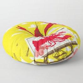 CRAWFISH BOIL II Floor Pillow