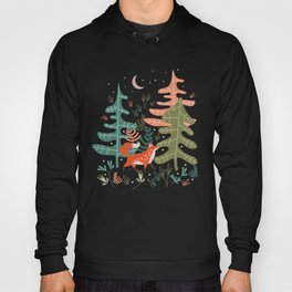 Evergreen Fox Tale Hoody