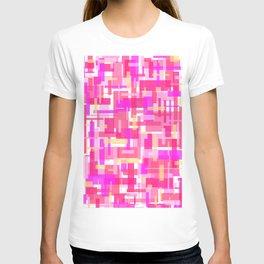 Pink Rectangles T-shirt
