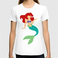 ariel T-shirts featuring Ariel by Dewdroplet