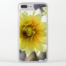Dahlia In The Garden / 30 Clear iPhone Case